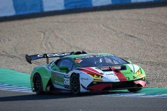#268 Huracan Super Trofeo Evo, Gama Racing: Yi Fan Chen, Chris van der Drift