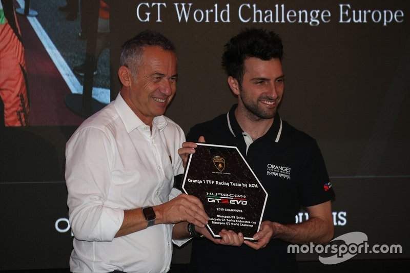 Awards ceremony Lamborghini Super Trofeo 2019