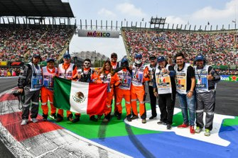 A group of Marshals at the drivers parade