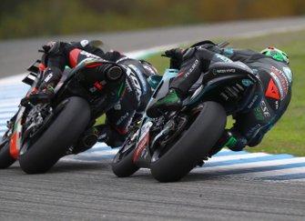Bradley Smith, Aprilia Racing Team Gresini, Franco Morbidelli, Petronas Yamaha SRT