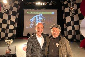 Massimo Nalli, Presidente Suzuki Italia, con Marco Lucchinelli