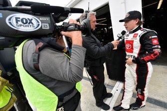 Brandon Jones, Joe Gibbs Racing, Toyota Supra Interstate Batteries and Matt Yokum