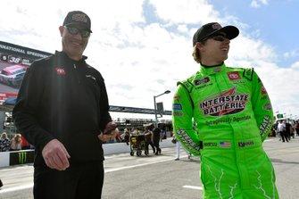 Brandon Jones, Joe Gibbs Racing, Toyota Supra Interstate Batteries and Jeff Meendering