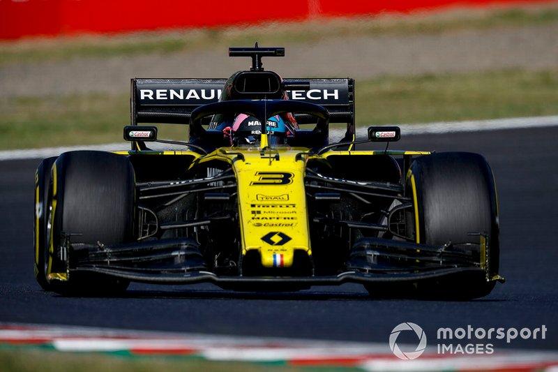 Hulkenberg deja pasar a Ricciardo
