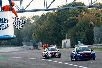 Race winner Julien Briché, JSB Compétition Peugeot 308 TCR