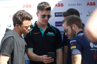Nyck De Vries, Mercedes Benz EQ, James Calado, Jaguar Racing, Sam Bird, Virgin Racing