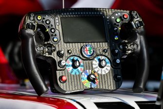Volante di Kimi Raikkonen, Alfa Romeo Racing C39