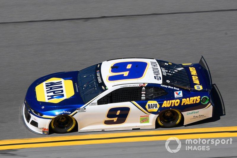 25. Chase Elliott, Hendrick Motorsports, Chevrolet Camaro NAPA Auto Parts