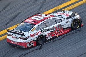 Gara vinta da Erik Jones, Joe Gibbs Racing, Toyota Camry