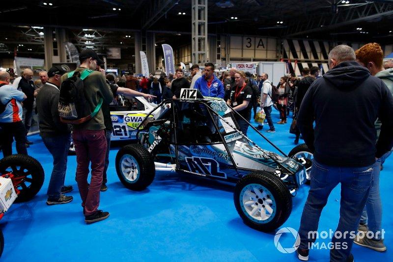 Un coche en el Autosport International