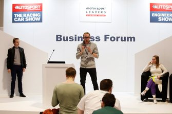 Christopher Sharp talks about Racing Pride at the Business Forum