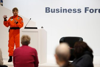 Marshal Nadine Lewis gives a talk at the Business Forum