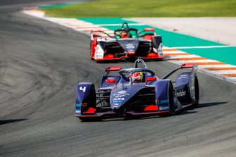 Robin Frijns, Envision Virgin Racing, Audi e-tron FE06 Daniel Abt, Audi Sport ABT Schaeffler, Audi e-tron FE06