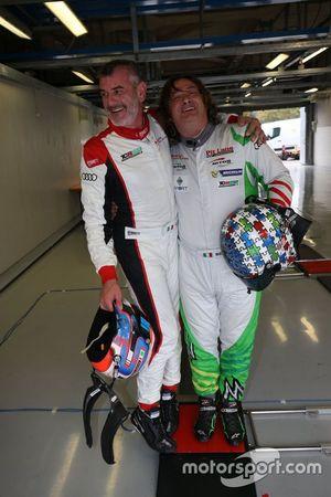 Sandro Pelatti, Scuderia del Girasole by Audi Sport, con Enrico Bettera, Pit Lane Competizioni