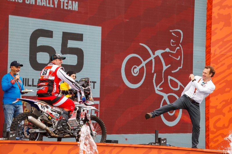 #65 Yamaha: Guillaume Chollet