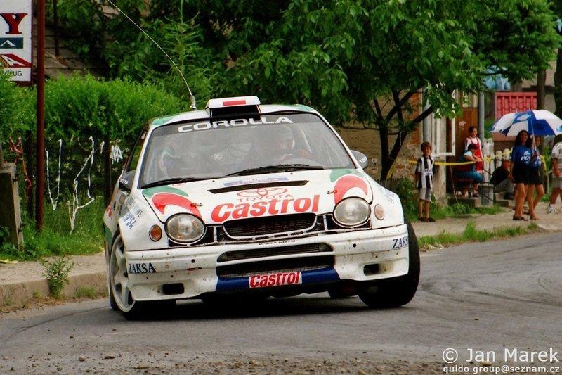 Robert Gryczyński , Tadeusz Burkacki, Toyota Corolla WRC, Rajd Polski 1998