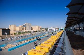 Linea di partenza della FIA ABB Formula E