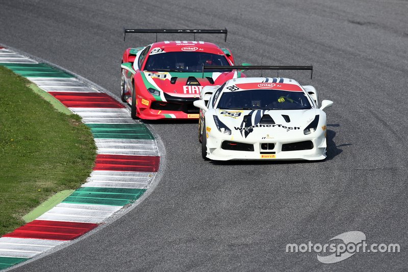 #233 Ferrari 488 Challenge, The Collection: Benjamin Hites, #263 Ferrari 488 Challenge, Ferrari Westlake: Cooper MacNeil