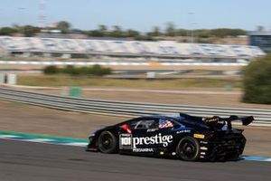 #101 Huracan Super Trofeo Evo, Travis Hougen/ Wane Taylor Racing: Andrea Amici, Sandy Mitchell