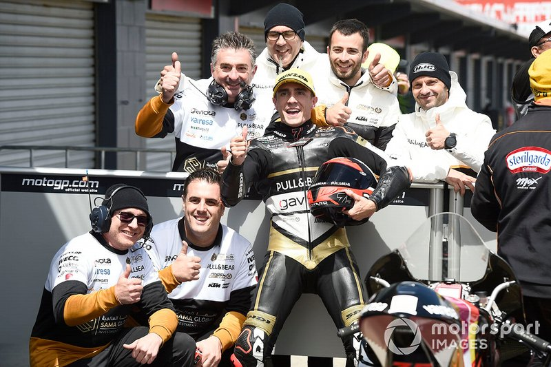 Third place Albert Arenas, Ángel Nieto Team