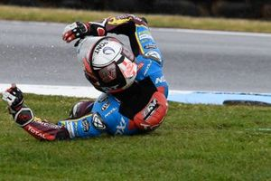 Xavi Vierge, Marc VDS Racing crashes