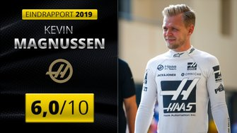 Eindrapport 2019 Kevin Magnussen, Haas