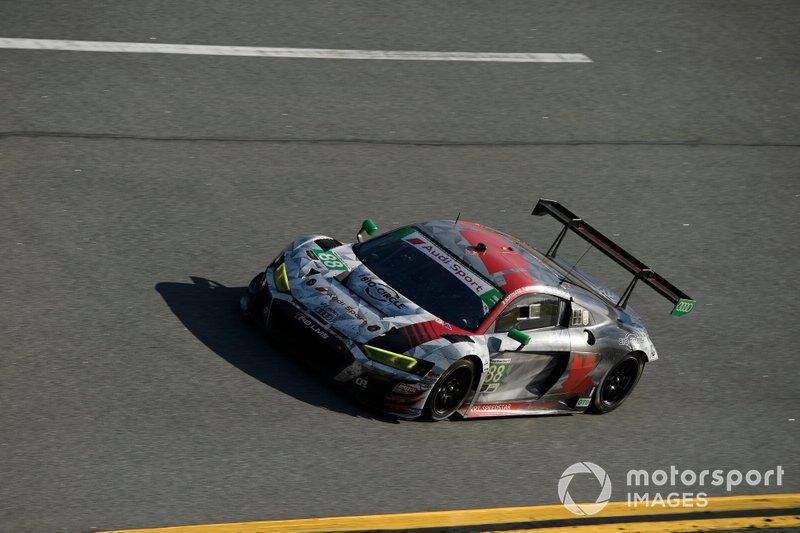 #88 WRT Speedstar Audi Sport Audi R8 LMS GT3: Mirko Bortolotti, Dries Vanthoor, Rolf Ineichen, Daniel Morad