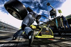 #12 AIM Vasser Sullivan Lexus RC F GT3: Frank Montecalvo, Townsend Bell, Shane van Gisbergen, Aaron Telitz