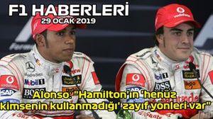 29 Ocak F1 haberleri