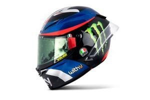 Le casque de Marco Bezzecchi, Sky Racing Team VR46