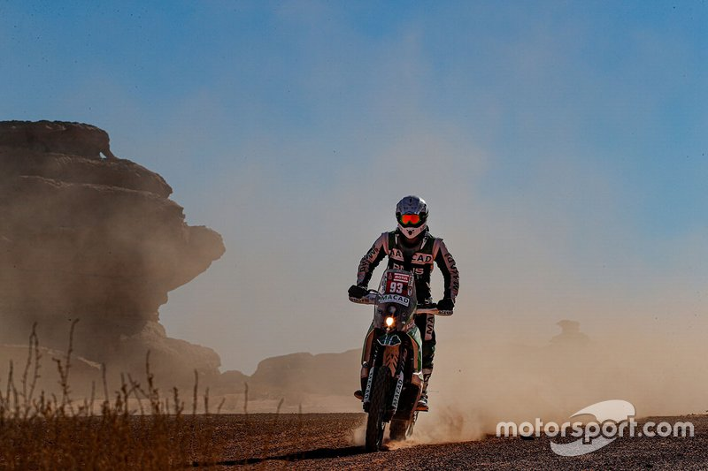 #93 KTM: Guillaume Martens