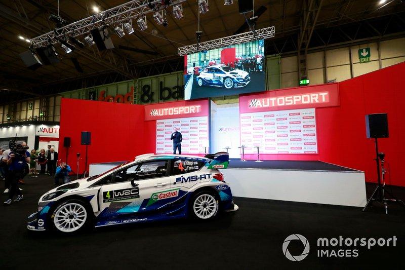 Lanzamiento de la decoración M-Sport Ford Fiesta 2020 en el stand de Autosport