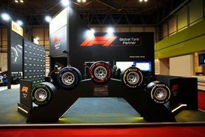 The range of Pirelli F1 tyres