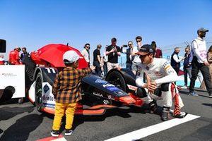 Lucas Di Grassi, Audi Sport ABT Schaeffler, mit Sohn Leonardo