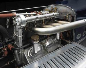 Moteur de la Peugeot L45 1914