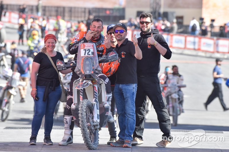 #72 KTM: Philippe Gendron
