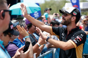 Jean-Eric Vergne, DS Techeetah incontra i fan