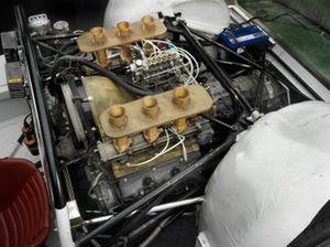 Moteur de la Porsche 910 1967