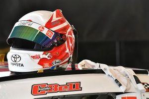 Christopher Bell, Joe Gibbs Racing, Toyota Supra Rheem helmet