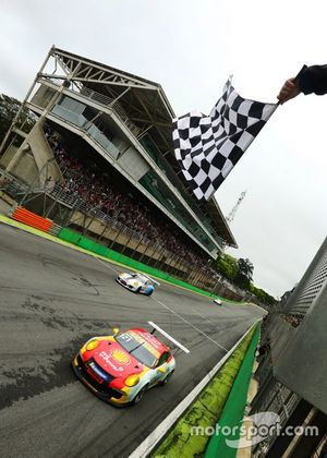 Bandeirada em Interlagos