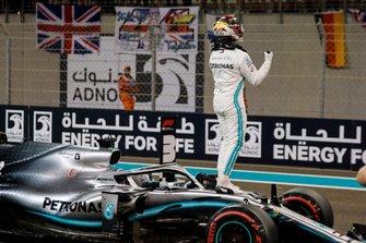 Обладатель поула Льюис Хэмилтон, Mercedes AMG F1 W10