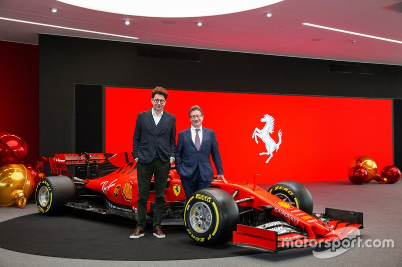 Mattia Binotto, Team Principal Ferrari e Louis Camilleri, Ferrari