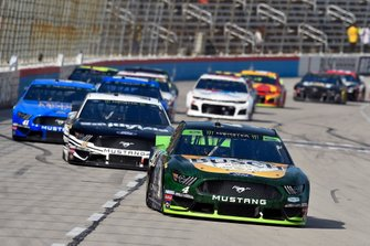 Kevin Harvick, Stewart-Haas Racing, Ford Mustang Busch Beer / Ducks Unlimited and Aric Almirola, Stewart-Haas Racing, Ford Mustang Smithfield