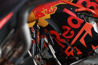 Red Bull KTM Factory Racing bike detail