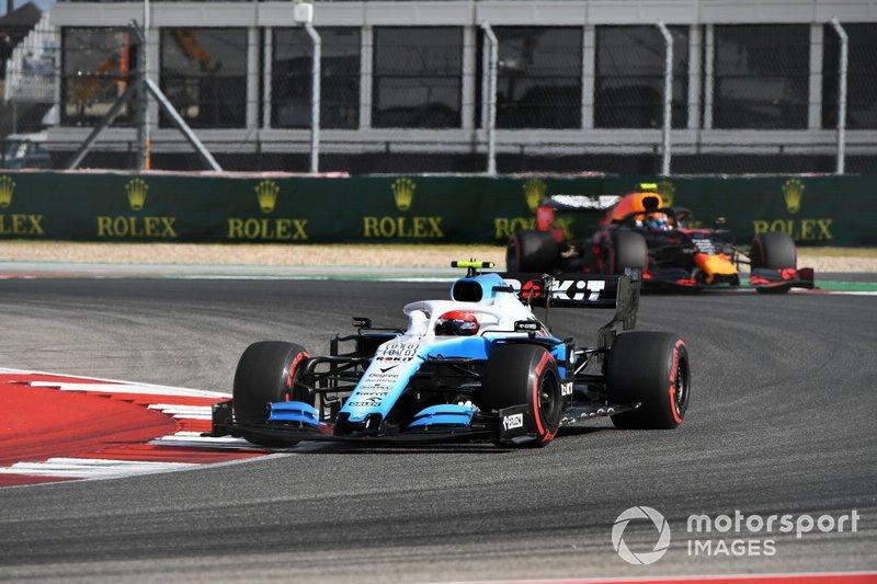 Robert Kubica, Williams FW42, Alexander Albon, Red Bull RB15 - Trening 2
