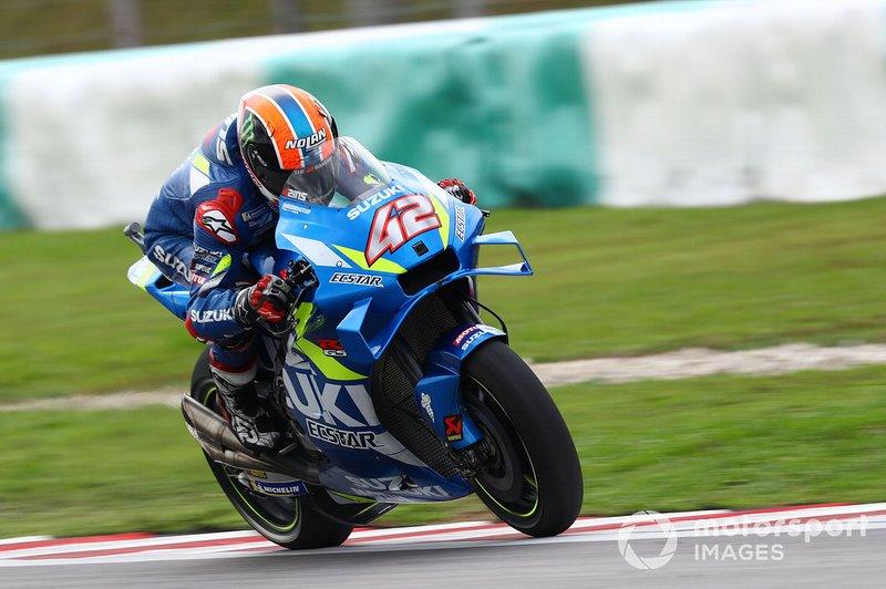 #42 Alex Rins, Team Suzuki MotoGP