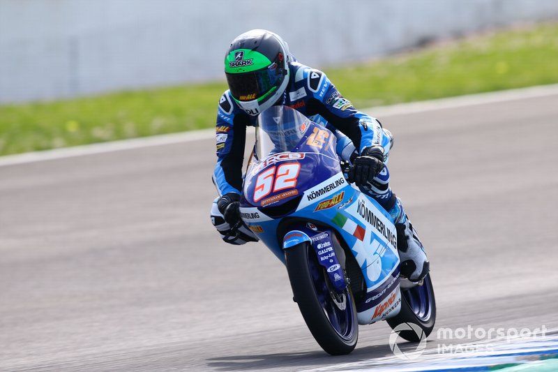 13º Jeremy Alcoba, Gresini Racing - 1:45.585