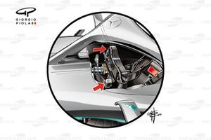 Mercedes AMG F1 W10 steering wheel back