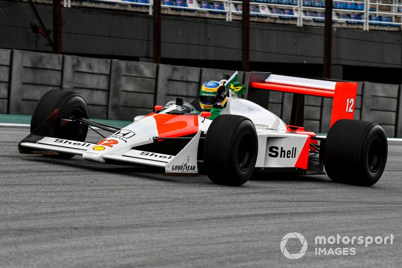 Bruno Senna, McLaren MP4/4