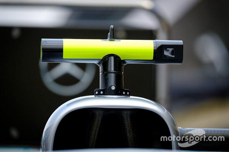 Mercedes AMG F1 W10 camera detail